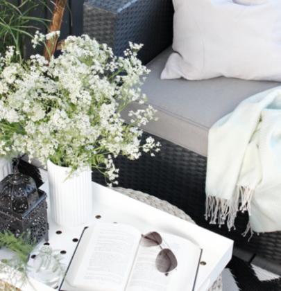 Buitenleven| Lente op het balkon