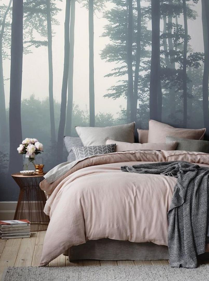 slaapkamer kleuren behang – artsmedia, Deco ideeën