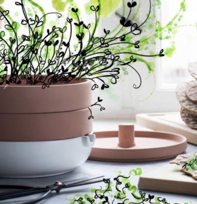 Woonnieuws | IKEA ANVÄNDBAR – Hippe Urban Garden collectie