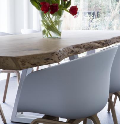 Interieur | Zwaartafelen – stoere tafels op maat