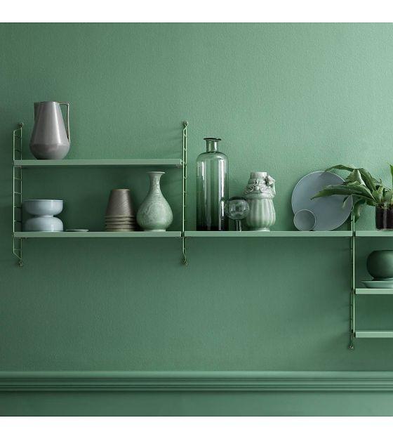 Kleur interieur gewaagd groen in huis stijlvol styling woonblog - Mooi huis deco interieur ...
