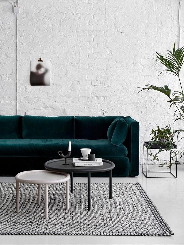 Kleur interieur gewaagd groen in huis stijlvol for Interieur aubergine