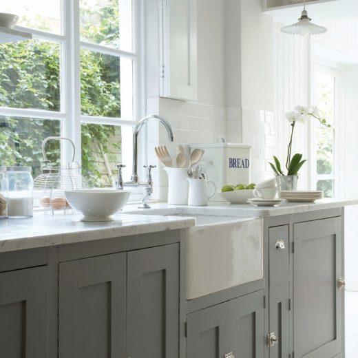 Kleur inspiratie | Schilderen in de keuken (Little Greene kitchen paint) - Woonblog Stijlvol