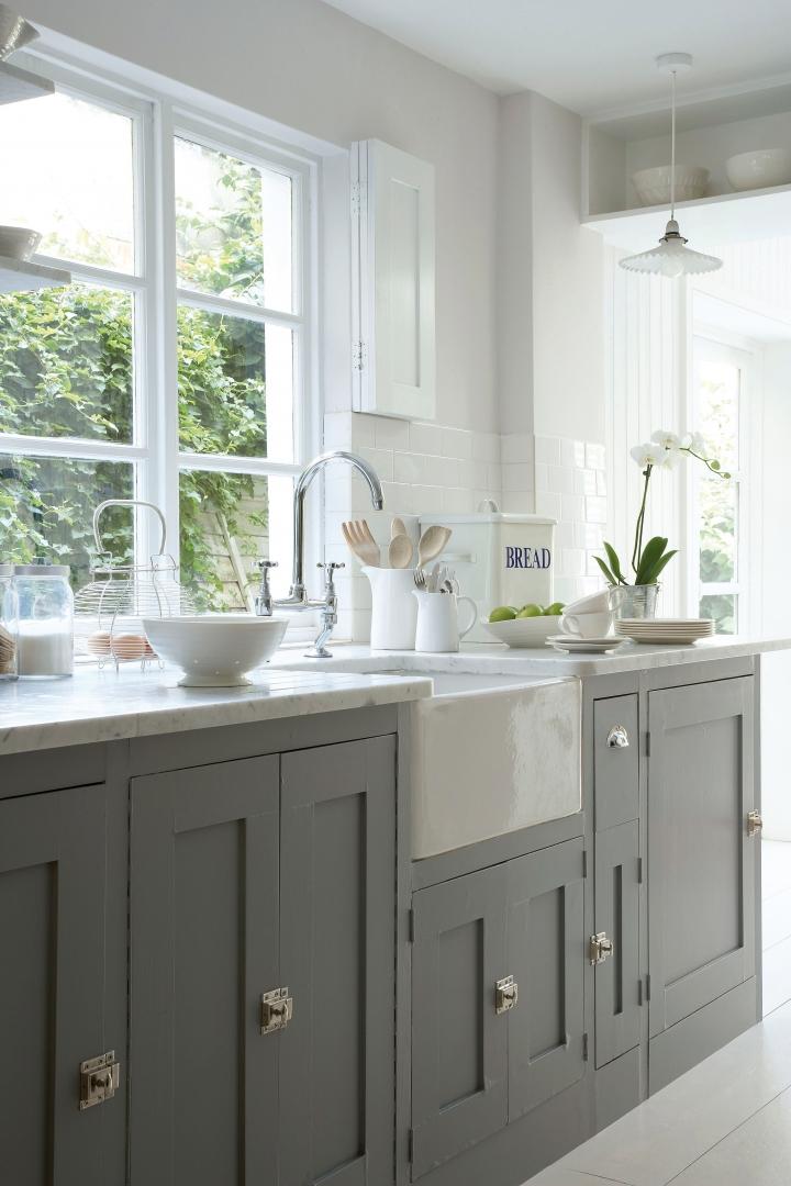 Interieur de keuken schilderen stijlvol styling for Interieur schilderen