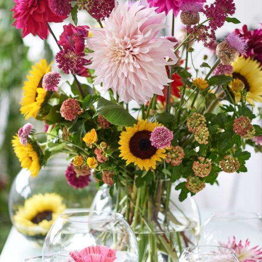Buitenleven   10x creatief met zomerbloemen - Woonblog StijlvolStyling.com
