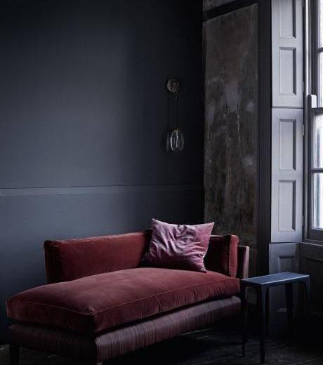 Mannen & interieur | Man cave in zwart en rood - Woonblog StijlvolStyling.com