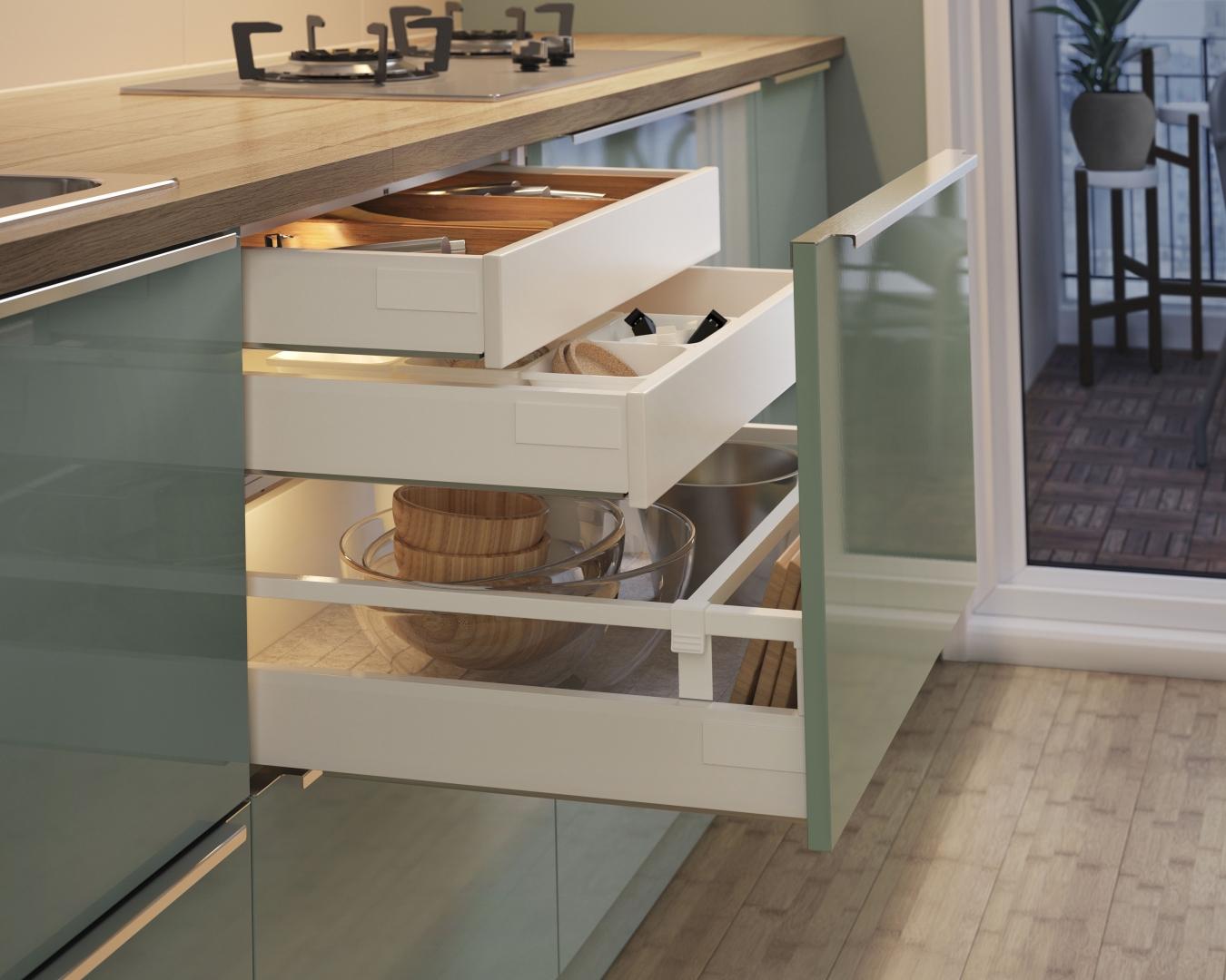 Cuisine ikea kallarp avec des id es int ressantes pour la conception de la chambre - Idee deco keuken ...