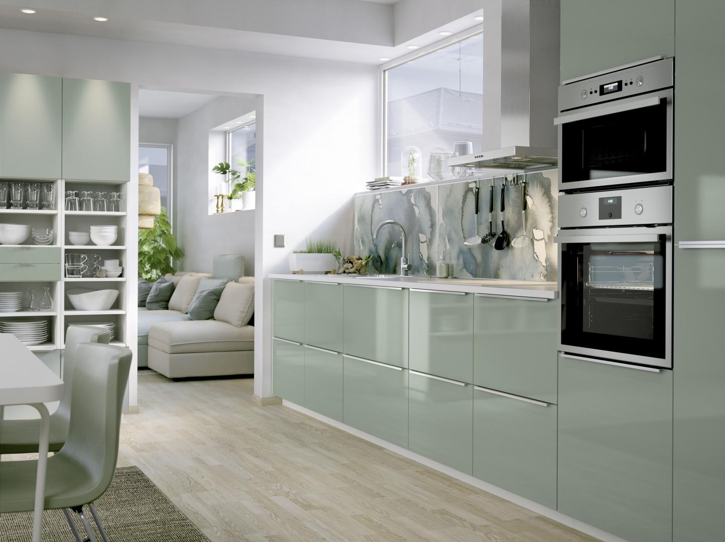 Keuken Grijs Groen : Interieur Ikea lanceert design keuken met karakter ? Stijlvol