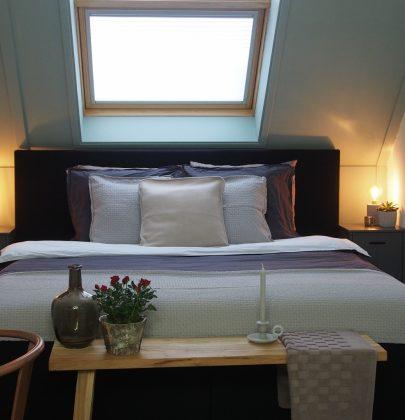 Interieur | Slaapkamer op zolder