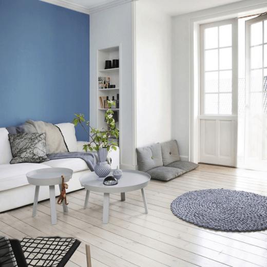 Binnenkijken | Scandinavisch wonen in wit en blauwtinten - Woonblog StijlvolStyling.com