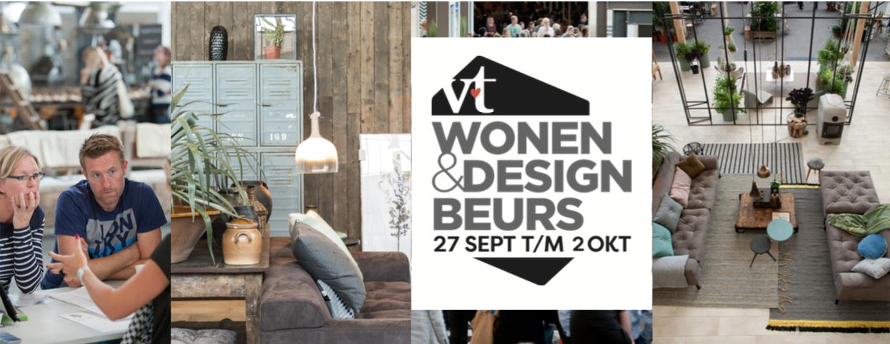 Woonnieuws vt wonen design beurs stijlvol styling for Woonbeurs 2016 utrecht