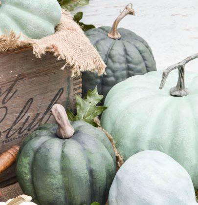 DIY | Pompoenen schilderen voor hippe herfstdecoratie