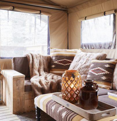 Interieur | Wonen in 'modern nomads' woonstijl
