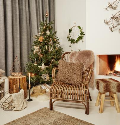 Feestdagen   Kersttrends natuurlijk kerstfeest & thuisblijf kerst