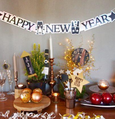 Feest styling | Oud & Nieuw feest styling tips voor thuisblijvers
