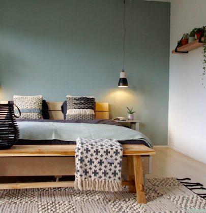 Binnenkijken | Slaapkamer in Scandinavische en natuurlijke woonstijl