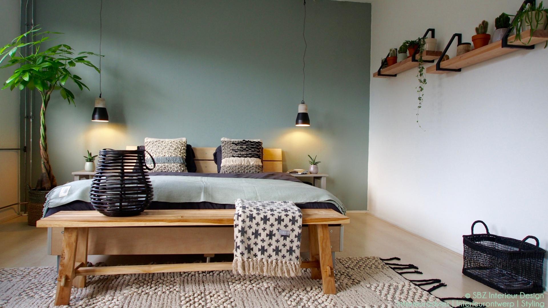 Binnenkijken slaapkamer in scandinavische en natuurlijke for Interieur kleur