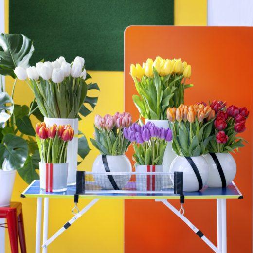Groen wonen | Stylen volgens bloementrend 'Energise' - Woonblog StijlvolStyling.com