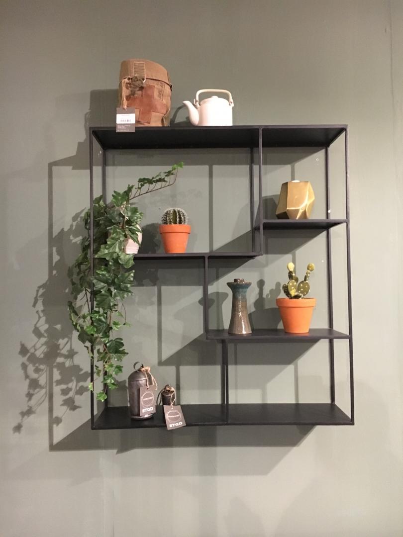 Interieur wandplank decoratie en styling tips stijlvol styling woonblog - Tuin interieur design ...