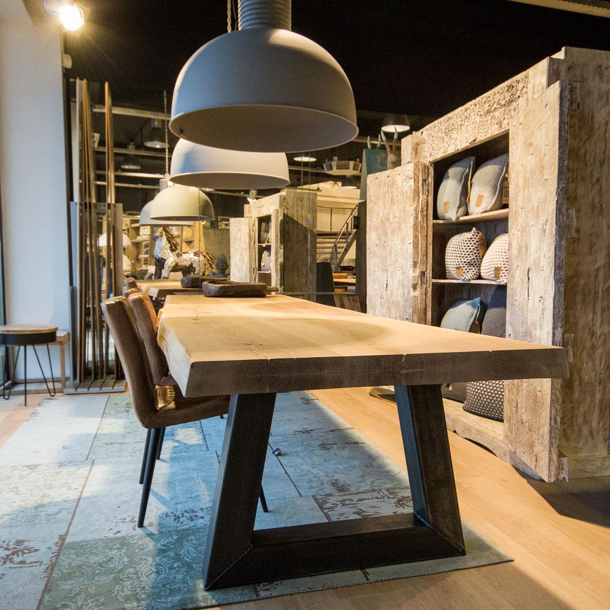 Interieur stoer en industrieel wonen stijlvol styling for Industrieel landelijk interieur