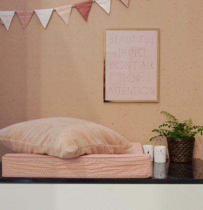 Interieur & kids   Hippe babykamer inspiratie in Roze & Wit