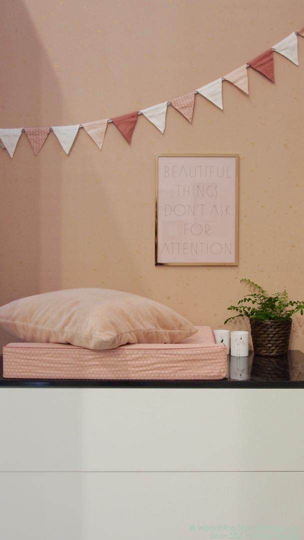 Interieur kids hippe babykamer inspiratie in roze for Interieur trends 2018