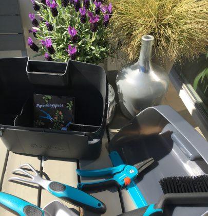 Tuin inspiratie | Stadstuinieren met balkon tuingereedschap