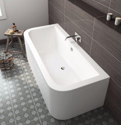 Interieur inspiratie | Betaalbare luxe baden voor de badkamer