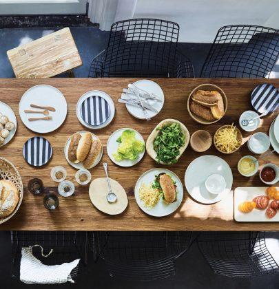 Interieur | Aan tafel! Mix-en-match met zomers servies