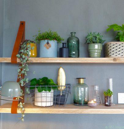 Binnenkijken | Susanne's 'urban jungle' thuiswerkplek