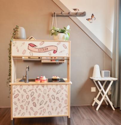 Interieur & kids | IKEA hack met de IKEA DUKTIG kinderkeuken