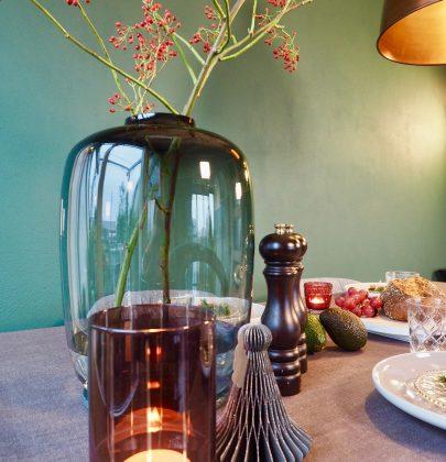 Feestdagen   Tafel decoratie en tafelkleden voor een feestelijk diner