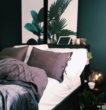 Interieur | Donkere kleuren in de slaapkamer