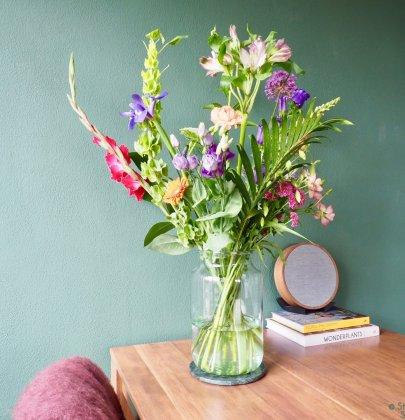 Groen wonen | De mooiste plekken in je huis voor bloemen