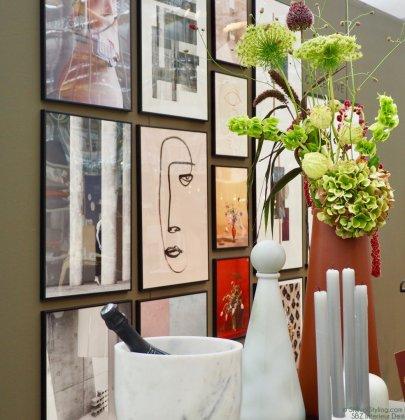 Interieur   Zo hang je kunst op een stijlvolle manier op